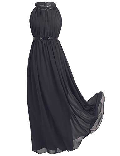 long black evening dresses size 16 - 3