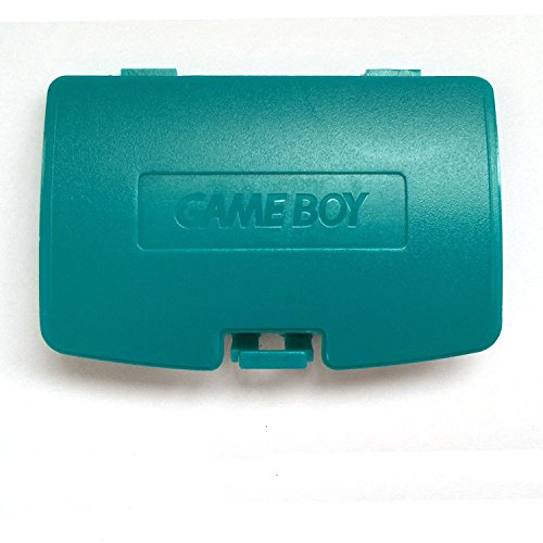 Boy Color Battery Cover Game (Battery Back Door Cover Case for Gameboy Color GBC Game Boy Color Replaceme Blue-Green)