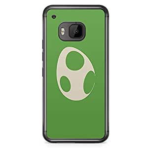 Loud Universe Mario Minimal Style HTC M9 Case Green HTC M9 Cover with Transparent Edges