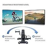 Ultrasport-Mini-Bike-Cyclette-per-Allenamento-di-Gambe-e-Braccia-diversi-livelli-di-resistenza-Bici-da-allenamento-per-Giovani-e-Anziani-in-Casa-o-in-Ufficio-con-Computer-per-lallenamento-integrato