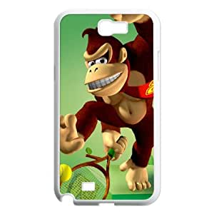 Samsung Galaxy N2 7100 Cell Phone Case White Super Smash Bros Donkey Kong JSK658302