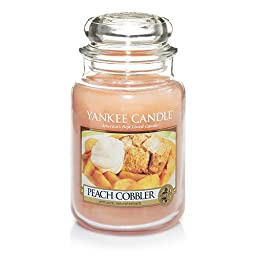 Yankee Candle Company Peach Cobbler Large Jar Candle