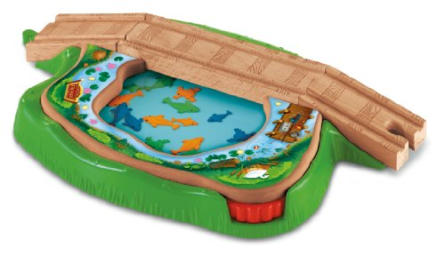 Fisher-Price Thomas Wooden Railway - Spin and Swim Lily Pond