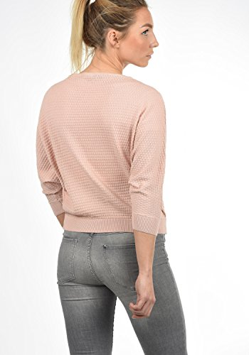 Smoke de Rond Yong Encolure Rose Jacqueline Tricot Femme Over Maille en EULA Pull by Only Coton Pull 100 gRAA4fqTF