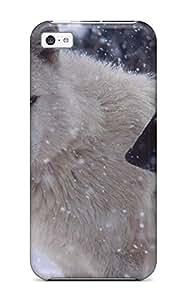 Iphone 5c Case Cover Skin : Premium High Quality Wolf Case