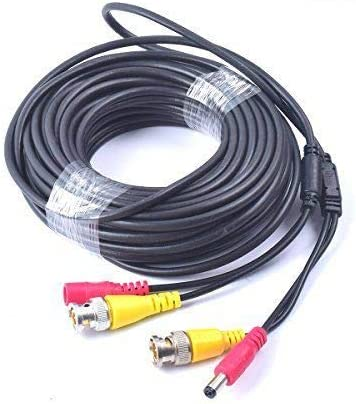 5M BNC DC Power Lead CCTV Camera Video Cable Security DVR Data Power Extension