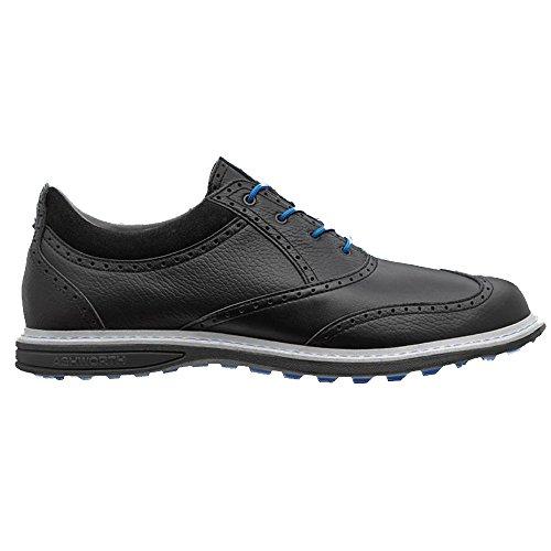 Ashworth Encinitas Wingtip Spikeless Golf Shoes 2014 Black Air Force Blue Medium 13