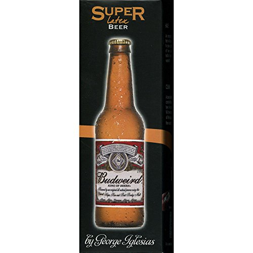 MMS Super Latex Brown Beer Bottle (Half) by Twister Magic -