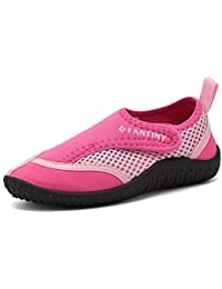 255c58b358029c Boys & Girls Water Shoes Aqua Shoe Swimming Pool Beach Sports Quick Drying  Athletic Shoes (