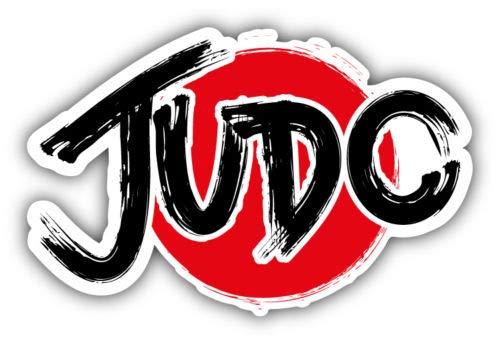 (Craftmag Judo Logo Vinyl Sticker Decal Outside Inside Using for Laptops Water Bottles Cars Trucks Bumpers Walls, 5'' x 3'')