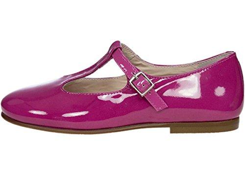 Panache Kids Traditional Girls T Bar Shoe Made In Spain Fuchsia fke7wUqp