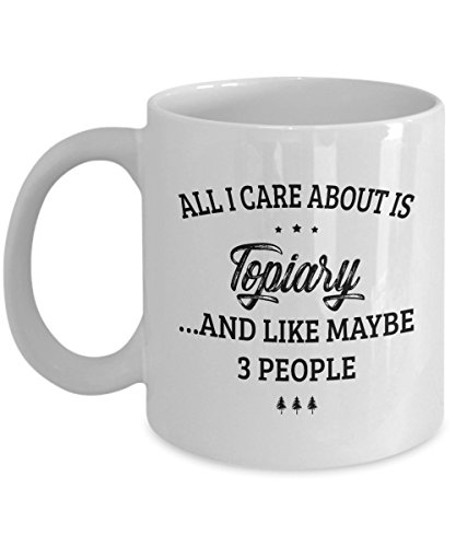 And Like Maybe 3 People - Funny Novelty Ceramic Coffee & Tea Cup Cool Gifts for Men or Women with Gift Box ()