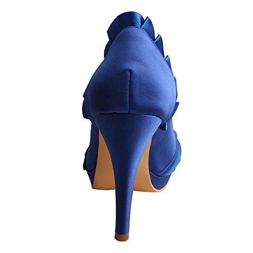 Wedopus Mujer Con Wedopus Tacón Zapatos Zapatos Yw1qF1
