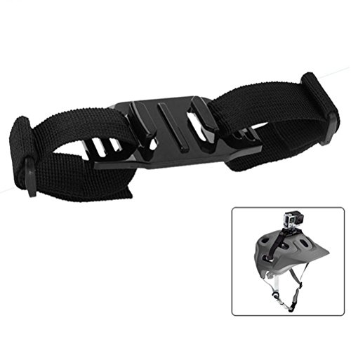 JointVictory Vented Adjustable Helmet Strap Head Belt Mount Holder Adapter for GoPro HERO6/5/5 Session/4 Session/4/3+/3/2/1, Xiaoyi and Other Action Cameras