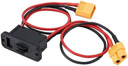 couleur: Multicolor MachinYesell Grand interrupteur /électronique actuel Lipo Battery Switch On Off Power Switch avec XT60 Plug RC Model Set pour RC Car Boat