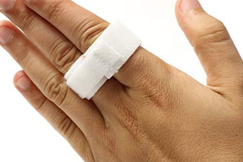 "Finger Buddy Tape Splint for Jammed and Broken Fingers - 3/4"" Wide - Pack of 10"