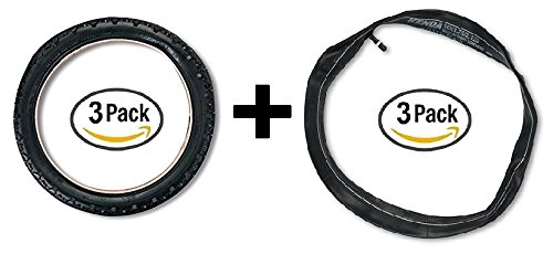 BOB Sport Utility 16'' Tires with Inner Tubes for Front & Rear (Set of 3)