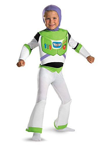 Toy Story Buzz Lightyear Deluxe Costume - Size: 3T-4T -