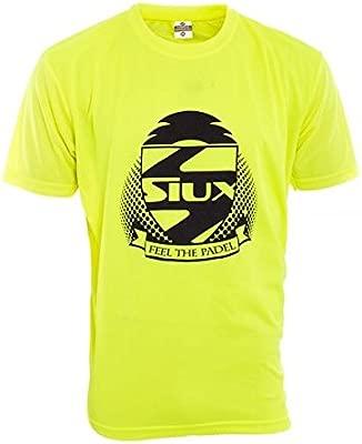 Siux Camiseta COMPETICION Amarillo Fluor