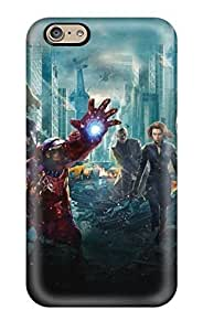 Hot Snap-on The Avengers 20 Hard Cover Case/ Protective Case For Iphone 6(3D PC Soft Case)