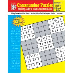Crossnumber Puzzles (Crossnumber Puzzles: Boosting Skills to Meet Assessment Goals (Grade 4: Extended Skills))