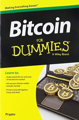 Bitcoin For Dummies book