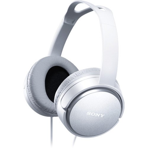 Sony Premium Lightweight Home Theater Headphones (White) by Sony