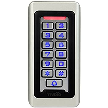 amazon com iei 212i indoor flush mount keypad access control IEI Keypads Change Code 120 tivdio access control keypad door keypad outdoor waterproof ip68 metal case rfid 125khz keypad single door stand alone with 2000 users for outdoor and