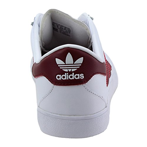 free shipping sneakernews adidas Skateboarding Mens Skate ADV White/Collegiate Burgundy/Gum outlet store Locations cheap looking for lAW2K5