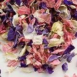 Alouette artificiel 1naturel biodégradable mariage Confetti–26couleurs disponibles, couleurs assorties, 1 l