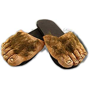 Big Ol Hairy Feet Halloween Accessory, Adult Large