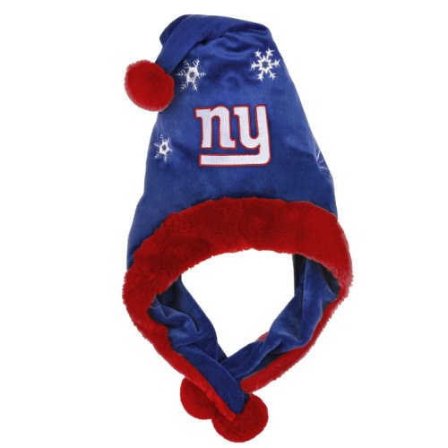 NFL New York Giants Thematic Santa Hat (Thematic Hat Santa)