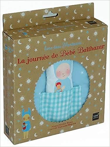 La Journee De Bebe Balthazar Livre Tissu Montessori