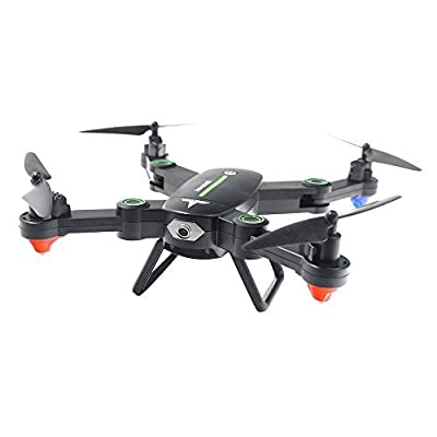 TOYEN TG16W RC Quadcopter Wi-Fi FPV Foldable Drone with 720P HD Camera RTF 4 Channel 2.4GHz 6-Gyro with Altitude Hold Function,Headless Mode and One Key Return Home-Green (Green) by TOYEN