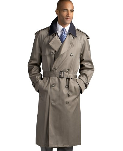 Trench Liner (Ralph Lauren Edmond Double Breasted Removable Liner Trench Coat Men Size 40R)