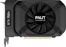 Palit GTX 750 TI StormX OC - Tarjeta gráfica con GeForce GTX 750 Ti (2 GB ddr5 sdram)