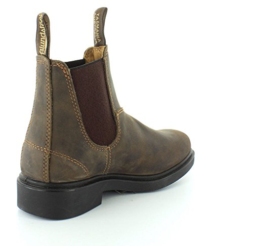 Adults' Chisel 1306 Chelsea Blundstone Brown Unisex Toe Boots dZI5FFqwn