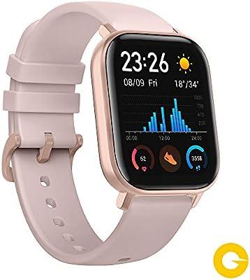 Amazfit GTS Reloj Smartwactch Deportivo | 14 días Batería | GPS+Glonass | Sensor Seguimiento Biológico BioTracker™ PPG | Frecuencia Cardíaca |