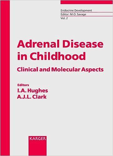 Adrenal Disease In Childhood: Clinical And Molecular Aspects.: 2 por I. A. Hughes epub