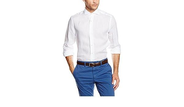 Mirto Capri Camisa, Blanco, 2 para Hombre: Amazon.es: Ropa y ...