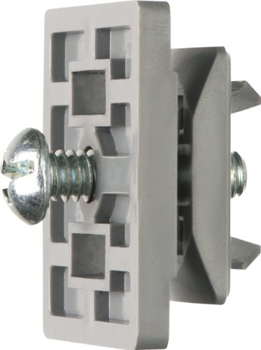 Arlington NM1000-100 Strut Clip Holds Pipe Hangers and Conduit Secure on Strut, Gray, 100-Pack