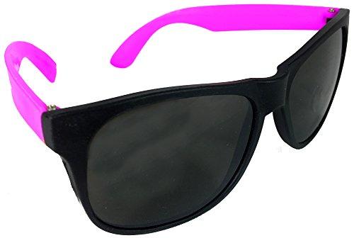 Neon Purple & Black Sunglasses Wayfarer - Sunglasses Tom Top Cruise Gun