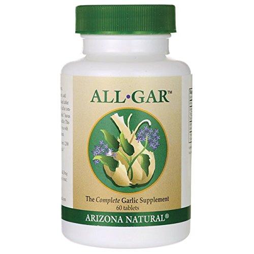 Arizona Natural Resource All-Gar Complete Garlic Supplement,