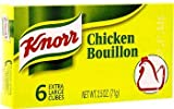 Knorr Chicken Bouillon ( 6 cubes )