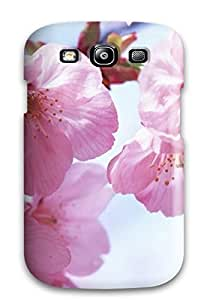 Galaxy Case - Tpu Case Protective For Galaxy S3- Pink Spring Flowers