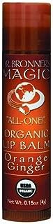 product image for Dr. Bronner's & Sun Dog's Magic Organic Lip Balm, Orange Ginger, 0.15-Ounce Sticks (Pack of 6)