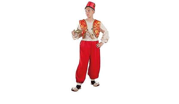 DISBACANAL Disfraz de Aladín para niño - -, 8 años: Amazon.es ...