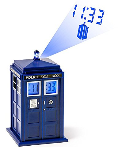 (Doctor Who TARDIS Projection Alarm Clock (DR190))
