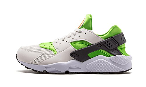 nike air huarache mens running trainers 318429 sneakers shoes (us 8, action green vivid orange white 304) (Lime Air Green Forces)