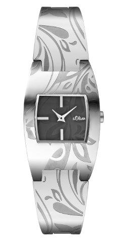 s.Oliver Damen-Armbanduhr SO-1953-MQ